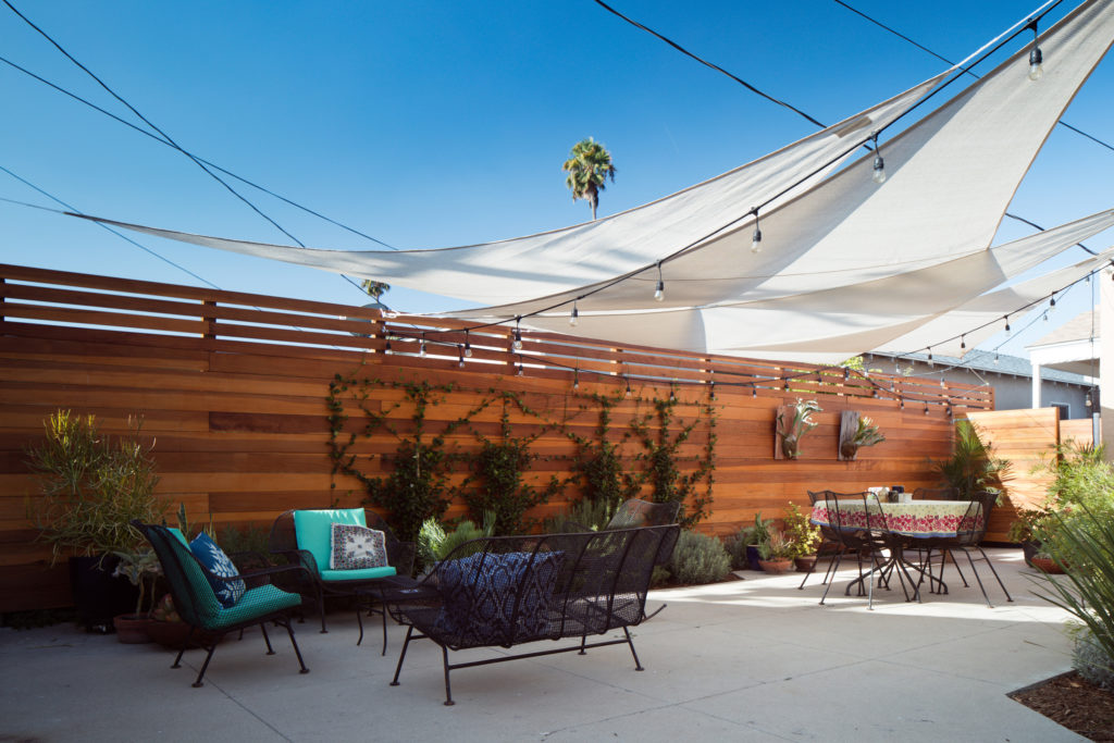 Leimert Park Residential Architecture Backyard Design Outdoor