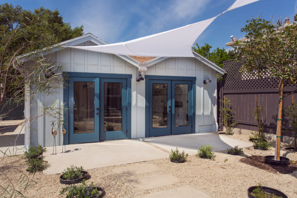 ADU Award Winning Garage Conversion Garvanza Highland Park Historic HPOZ Residential Architect
